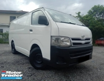 2013 TOYOTA HIACE 2.5 (M) PANEL VAN DIESEL TURBO GOOD CONDITION KEPT WELL PROMOTION PRICE.