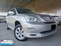2007 TOYOTA HARRIER REG 11 2.4 (A) VVTI SUV GOOD CONDITION RAYA PROMOTION PRICE.