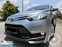 2014 TOYOTA VIOS 1.5G (AT)/1 OWNER/ 65K KM/ F-LOAN / F-DELIVER / F-SERVICE TOYOTA / PUSH START / LEATHER SEAT