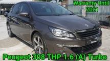 2017 PEUGEOT 308 THP 1.6 Turbo Ori 20K Km Mileage 5 Year Warranty With Unlimited Mileage Warranty Until 2021 Really Like New Car Worth Buy