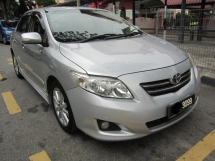 2009 TOYOTA ALTIS 1.8G FULL SPEC SUPER TIPTOP CONDITION BODY PRICE NEGO