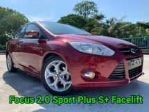 2014 FORD FOCUS 2.0 Sport Plus Facelift Very Good Condition Confirm Accident Free No Any Modifications Guarantee Buy and Drive No Repair Need Worth Buy