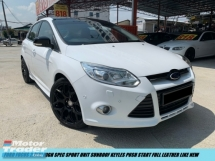 2014 FORD FOCUS 2.0 SPORTUNIT LIMITED STOCK SUNROOF KEYLES LEATHER ORI CONDITION
