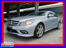 2010 MERCEDES-BENZ E-CLASS E250 CGI AMG 1.8L TURBOCHARGED - GOOD CONDITION - COME TO VIEW