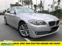 2013 BMW 5 SERIES 523I M-SPORT LOCAL SPEC ONE DOCTOR OWNER ORIGINAL PAINT LIKE NEW