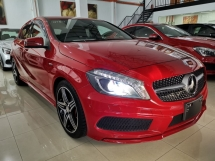 2014 MERCEDES-BENZ A250 AMG SPORT HARMAN KARDON RED UNREG