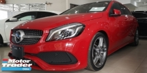 2015 MERCEDES-BENZ A-CLASS A180 1.6 AMG SPORT / NEW FACELIFT / PUSH START / HK SOUND / PANORAMA ROOF / READY STOCK NO NEED WAIT