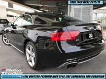 2012 AUDI A5 2.0 TFSI QUATTRO S-LINE PREMIUM HIGH SPEC ONE OWNER LIKE NEW CAR SHOWROOM CONDITION
