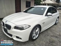 2014 BMW 5 SERIES 2.0 M SPORT JAPAN SPEC SPORT ECO MODE MEMORY LEATHER SEATS PRE CRASH FREE WARRANTY