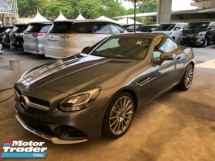 2017 MERCEDES-BENZ SL-CLASS Unreg Mercedes Benz SLC300 2.0 Turbo AMG Convetible Top 9G