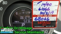 2015 HONDA ACCORD G9 2.0 VTI-L Ori 61K Km Mileage Excellent Condition No Accident Record No Repair Need Worth Buy