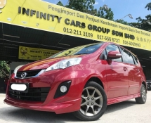 2014 PERODUA ALZA 1.5 ADVANCED ZHP ADVANCE LEATHER SEAT VERY NICE CONDITION