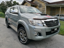 2016 TOYOTA HILUX 2016 Toyota HILUX 2.5 G 4WD (A) FACELIFT