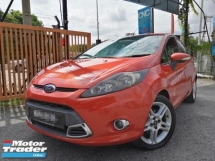 2010 FORD FIESTA 1.6L Sport Hatchback Limited Edition