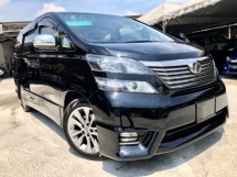 2013 TOYOTA VELLFIRE 2.4 (A) FACELIFT 1 OWNER TWIN POWER DOOR