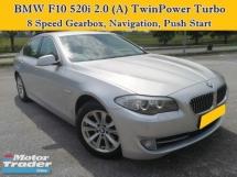 2013 BMW 5 SERIES F10 520i 2.0 (A) TwinPower Turbo Local 523i 528i Luxury Sedan