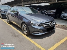 2013 MERCEDES-BENZ E-CLASS E200 2.0 (CKD Local Spec)