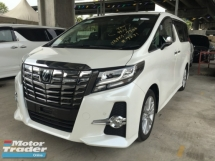 2015 TOYOTA ALPHARD TOYOTA ALPHARD 2.5 G SA MPV SUNROOF PRE CRASH FULL VIEW CAMERA POWER BOAT
