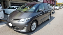 2010 TOYOTA ESTIMA 2.4 VVTI (A) REG 2013, AERAS G MODEL, ONE CAREFUL OWNER, 7 SEAT, 2 POWER DOOR, REVERSE CAMERA, DVD MONITOR, 17