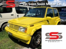 1991 SUZUKI VITARA 1.6 SUV FULL Spec(AUTO)1991 Only 1 LADY OWNER, LOW Mileage, TIPTOP, ACCIDENT-Free, DIRECT-Owner, with FULL Spec SPORTRIM & AIRBEG