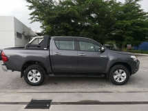2017 TOYOTA HILUX 2.4G(A)TEST DRIVE CAR FOR SALES