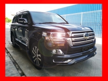 2017 TOYOTA LAND CRUISER G FRONTIER 4.6L HIGH SPEC SUNROOF, HOME THEATER - UNREG