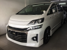 2013 TOYOTA VELLFIRE 2.4 (A) GS Registered 2016