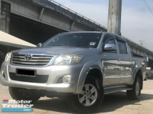 2012 TOYOTA HILUX DOUBLE CAB 2.5G (AT) !! DISCOUNT SEASON !!