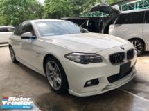 2015 BMW 5 SERIES Unreg BMW 520i 2.0 Turbo M Sport Camera Keyless Push Start 8Speed