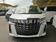 2018 TOYOTA ALPHARD 2.5 SC New Face-lift Sunroof Leather