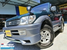 1997 TOYOTA PRADO LANDCRUISER 3.0 COUPE 2DOOR - EURO 5 DIESEL -  1KZ INTERCOOLER ENGINE - 4X4 - LIMITED UNIT KZJ90 - 7SEATER - PERFECT CONDITION - NO OFF ROAD USE BEFORE - CASH N CARRY -