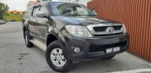 2011 TOYOTA HILUX 2.5 G (A) DOUBLE CAB TIPTOP CONDITION