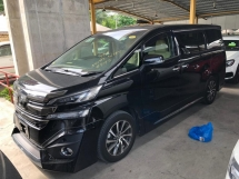 2015 TOYOTA VELLFIRE 3.5V L EDITION FULL SPEC ACTUAL YEAR MAKE 2015 SST INCLUSIVE