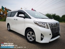 2016 TOYOTA ALPHARD 2.5 (A) 2016 Unregistered