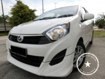 2014 PERODUA AXIA G SPEC / 1 OWNER / 45K KM / FULL SERVICE PERODUA / LIKE NEW CONDITION