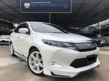 2015 TOYOTA HARRIER 2.0 PREMIUM SPEC, FULL BODYKIT, POWER BOOT, NICE RIM, LIKE NEW CONDITION