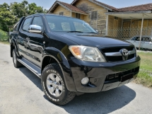 2009 TOYOTA HILUX 2009 Toyota HILUX 2.5 G 4WD (A) DIESEL TURBO
