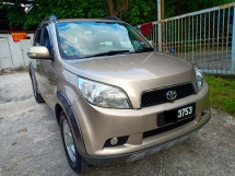 2010 TOYOTA RUSH 1.5G (MT) One Owner Low Mileage Original Paint
