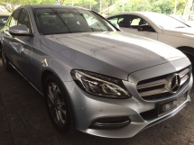 2015 MERCEDES-BENZ C-CLASS C200 CKD Full Service Record Mileage 24k km, Warranty until END 2019