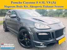 2006 PORSCHE CAYENNE S 4.5L V8 (A) MAGNUM Body Kit Akrapovic Exhaust SUV