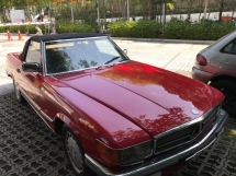1988 MERCEDES-BENZ SL 300SL R107 stock ready
