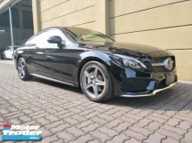 2016 MERCEDES-BENZ C-CLASS C180 COUPE AMG 1.6 TURBO