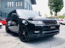 2014 LAND ROVER RANGE ROVER SPORT 5.0 V8 SUPERCHARGED WITH KAHN DESIGN RS600 WHEELS