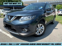 2017 NISSAN X-TRAIL 2.5L Premium Full Spec Full Service Record Under Warranty