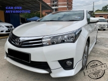 2014 TOYOTA ALTIS 2014 Toyota Corolla Altis 1.8 FACELIFT (A)FULL SERVICE RECORD,1 LADY OWNER,CAR KING @@@CASH PRICE OFFER!!!@@@ @@@Free Test Drive @@@