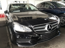 2015 MERCEDES-BENZ E-CLASS E200 AMG UK UNREG