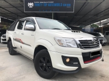 2015 TOYOTA HILUX DOUBLE CAB 2.5G TRD SPORTIVO, VNT, FULL SPEC, ENGINE DIESEL TURBO, LIKE NEW CONDITION, PROMOSI SEMPENA HARI RAYA