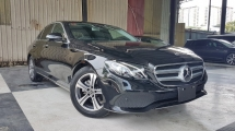 2017 MERCEDES-BENZ E-CLASS 2017 Mercedes E200 Avantgarde W213 Japan Spec 4 Camera Radar Blind Spot LKA Unregister for sale