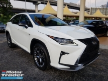 2016 LEXUS RX350 F SPORT HIGHEST SPEC Imported New 2016/16 RX 350
