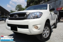 2010 TOYOTA HILUX Toyota HILUX 2.5 SINGLE CAB (M)LEATHER 4WD PERFECT